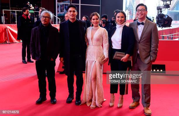 Filipino independent filmmaker Lav Diaz filipino actor Piolo Pascual filipino actress Shaina Magdayao filipino producer Bianca Balbuena and Filipino...