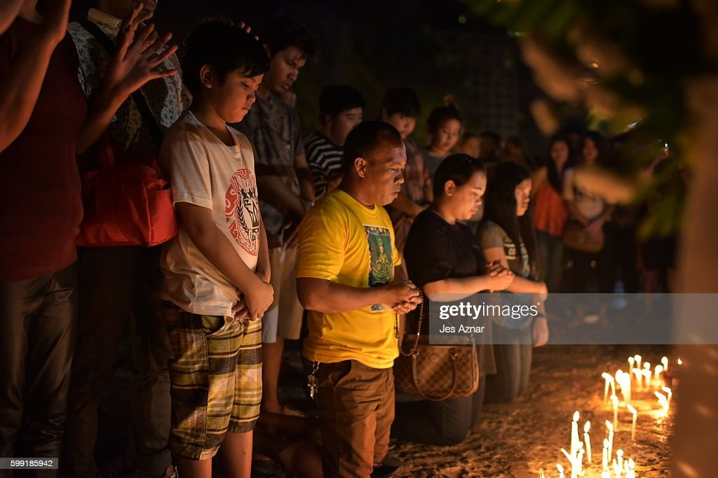 """Davao City Under """"State Of Lawlessness"""" After Bomb Attack : News Photo"""
