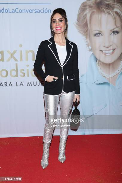 Filippa Giordano attends the Todo Para La Mujer 30th Anniversary Red Carpet at Live Aqua hotel on October 16 2019 in Mexico City Mexico