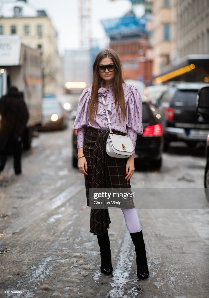 SWE: Day 2 - Street Style - Stockholm Runway February 2019