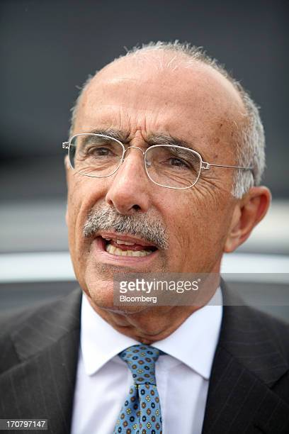 Filippo Bagnato, chief executive officer of Avions de Transport Regional , speaks on the second day of the Paris Air Show in Paris, France, on...