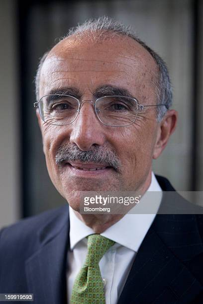 Filippo Bagnato, chief executive officer of Avions de Transport Regional , poses for a photograph following a news conference to announce the...