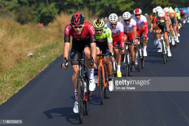 Filippo Ganna of Italy and Team INEOS / during the 103rd Giro del Piemonte 2019 a 183km race from Agliè to Santuario di Oropa Biella 1142m /...