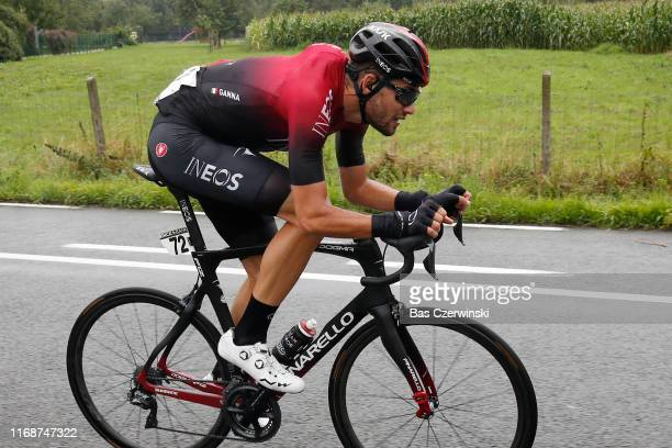 Filippo Ganna of Italy and Team INEOS / during the 15th Binck Bank Tour 2019 Stage 7 a 1781km stage from SintPietersLeeuw to Geraardsbergen /...