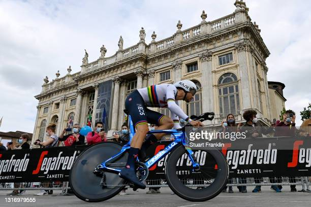 Filippo Ganna of Italy and Team INEOS Grenadiers during the 104th Giro d'Italia 2021, Stage 1 a 8,6km Individual Time Trial stage from Torino to...