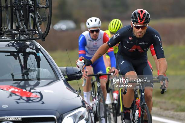 Filippo Ganna of Italy and Team INEOS Grenadiers during the 51st Étoile de Bessèges - Tour du Gard 2021, Stage 4 a 151,6km stage from Rousson to...