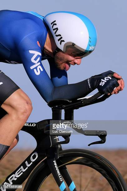 Filippo Ganna of Italy and Team Sky / during the 4th Tour de La Provence 2019 Stage 1 a 89km Individual Time Trial stage from Les Arenes to Van Gogh...