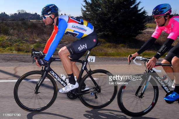Filippo Ganna of Italy and Team Sky Leader Jersey / during the 4th Tour de La Provence 2019 Stage 2 a 1956km race from Istres to La Ciotat Boulevard...
