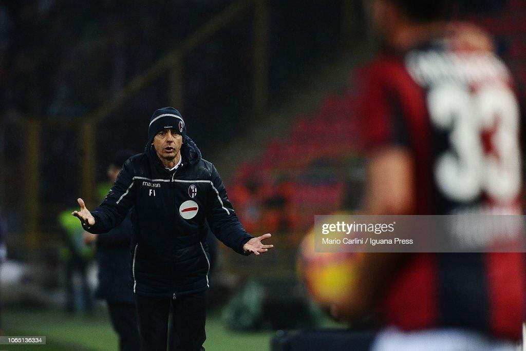 Bologna FC v ACF Fiorentina - Serie A : Fotografía de noticias
