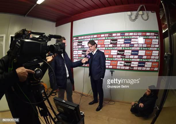 Filippo Inzaghi head coach of Venezia FC prior the Serie B match between AS Cittadella and Venezia FC at Stadio Piercesare Tombolato on October 24...