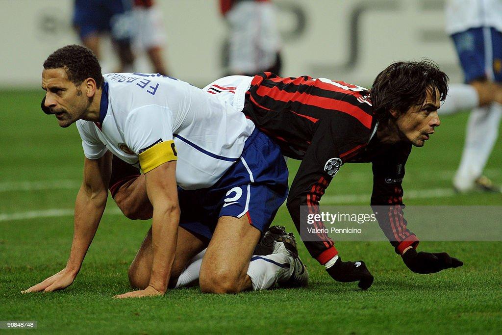 AC Milan v Manchester United - UEFA Champions League