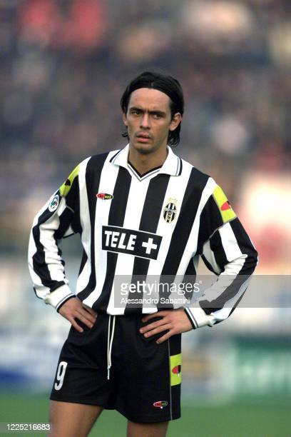 Filippo Inzaghi of Juventus looks on during the Serie A 2000-01 Italy.