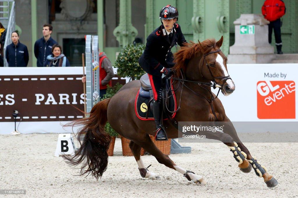 Filippo Marco Bologni riding Sedik Milano Quidich de la Chavee ...