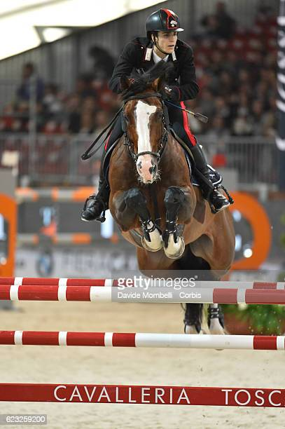BOLOGNI Filippo Marco of Italy rides Fixdesign Chopin during the FEI Longines CSI5* World Cup Small Tour By BMW Jumping Verona 2016 on November 10...