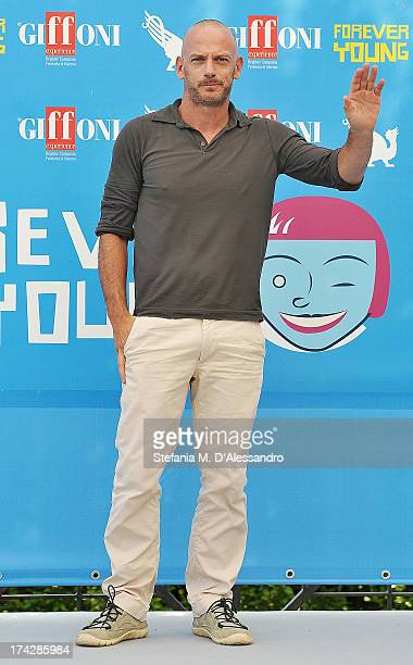 Filippo Nigro attends 2013 Giffoni Film Festival photocall on July 23 2013 in Giffoni Valle Piana Italy