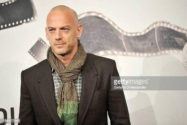 Filippo Nigro attends 'E La Chiamano Estate' Photocall at Auditorium Parco Della Musica on November 14 2012 in Rome Italy