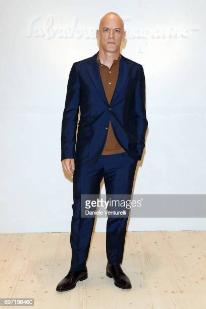 Filippo Nigro attends the Salvatore Ferragamo show during Milan Men's Fashion Week Spring/Summer 2018 on June 18 2017 in Milan Italy