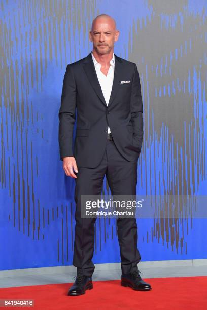 Filippo Nigro attends the 'Suburra The Series' premiere during the 74th Venice Film Festival on September 2 2017 in Venice Italy