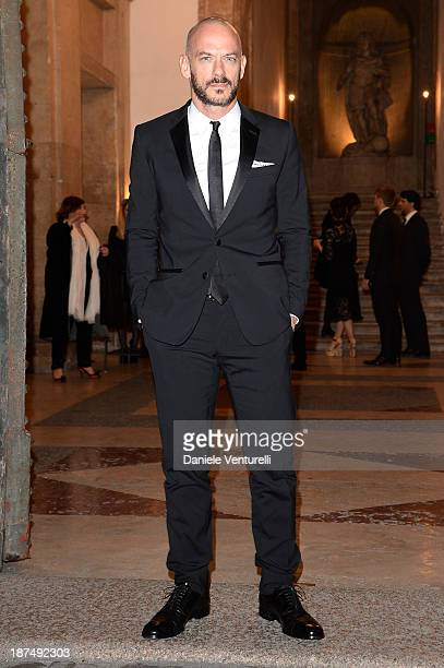 Filippo Nigro attends the Vanity Fair Dinner at the 8th Rome Film Festival at Villa Medici on November 9 2013 in Rome Italy