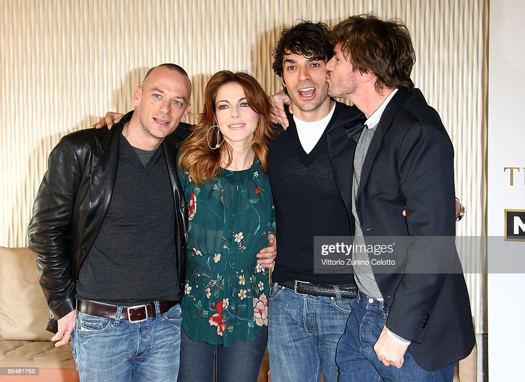 Filippo Nigro Claudia Gerini Luca Argentero And Umberto Carteni News Photo Getty Images