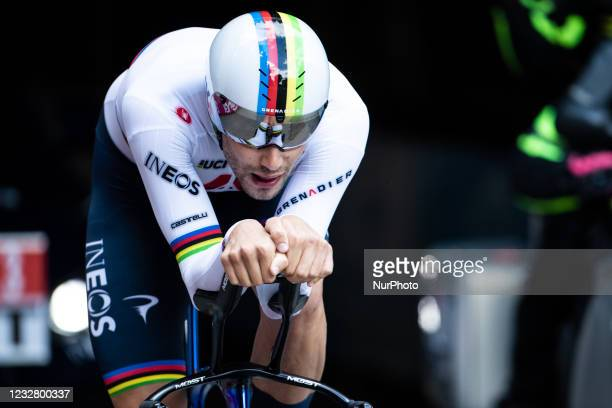 Filippo of INEOS GRENADIERS during the 104th Giro d'Italia 2021, Stage 1 a 8,6km Individual Time Trial stage from Turin to Turin on May 8, 2021 in...