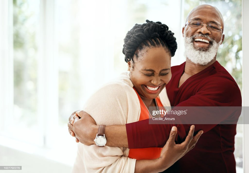 Fill your marriage with a lot of laughter : Stock Photo