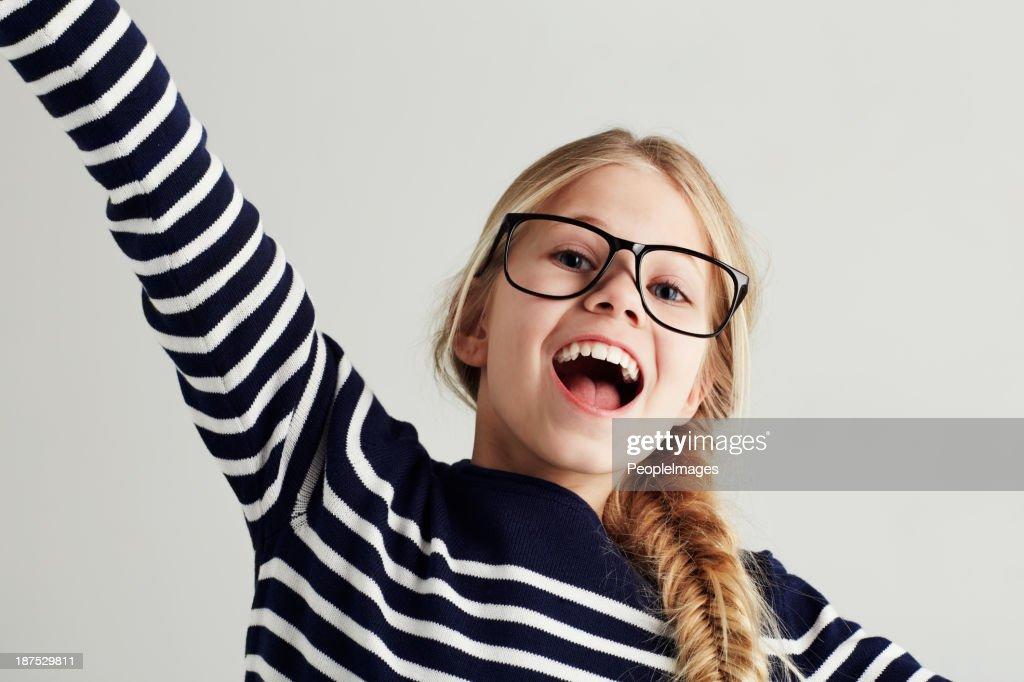 Mit Jugendlichen Optimismus : Stock-Foto