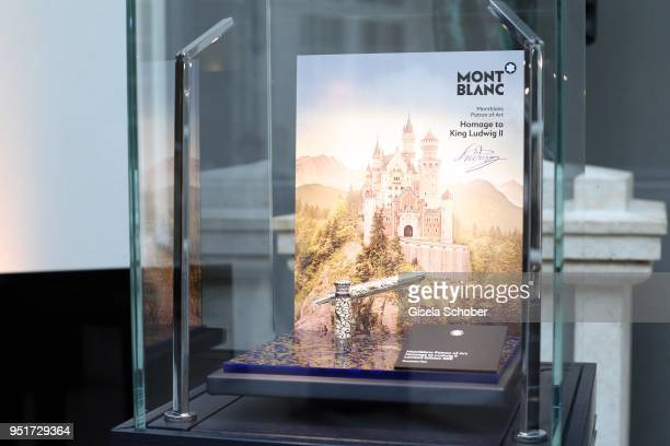 Filler in Homage to Prince Ludwig II during the 27th Montblanc de la Culture Arts Patronage Award at Residenz on April 26 2018 in Munich Germany