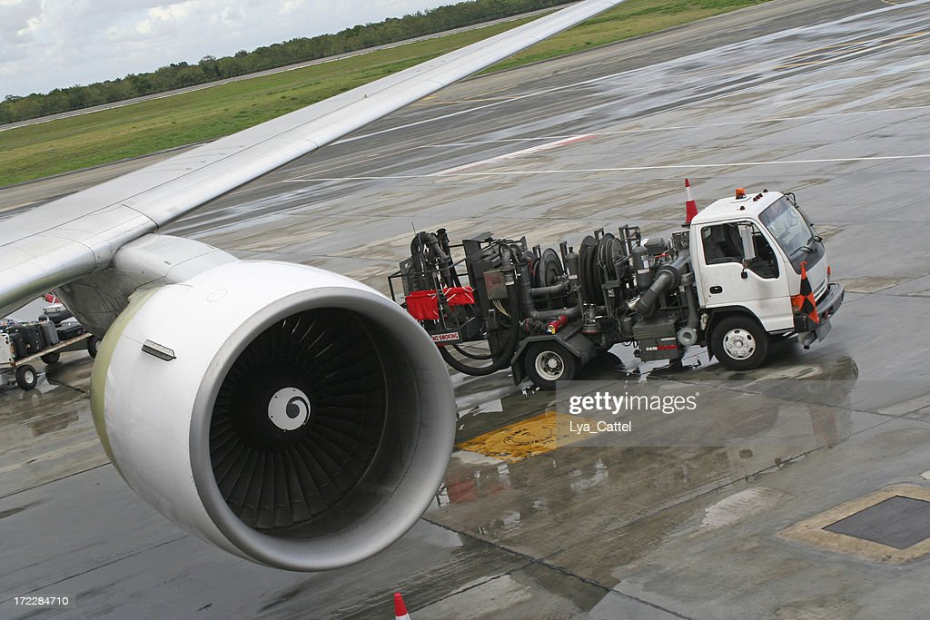 Filling airplane # 2 : Stock Photo