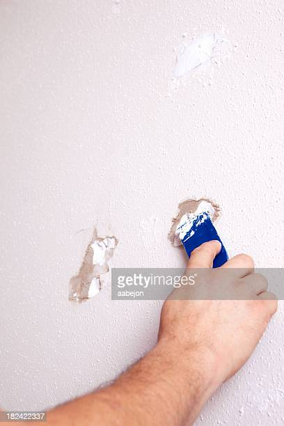 Filling Hole with Spackle