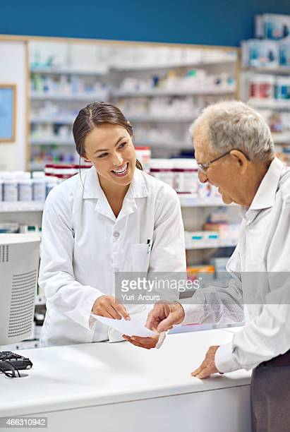 Filling prescriptions with a smile