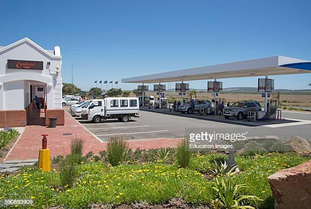Filling station on the N2 Highway near Mossel Bay South Africa
