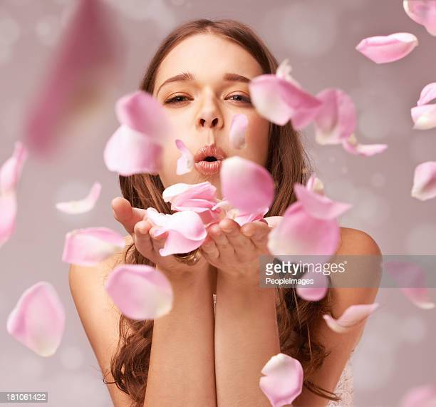 filling the air with a whimsical scent - pink flowers stock pictures, royalty-free photos & images