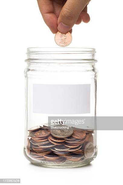 Filling the Coin Jar