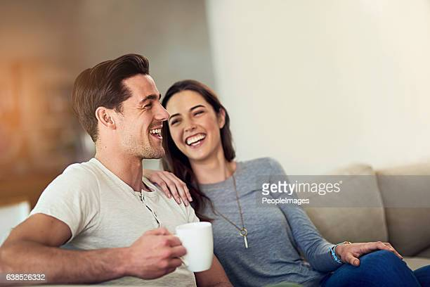 filling their home with love and laughter - young couple stock pictures, royalty-free photos & images