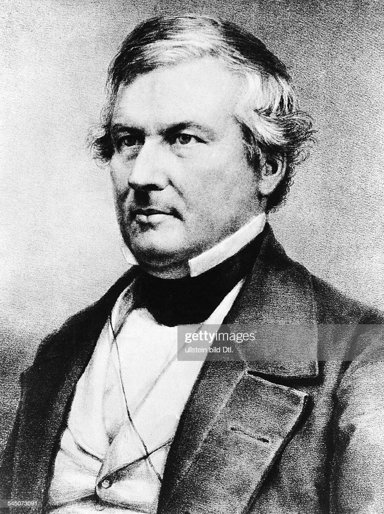 Millard Fillmore, 13. Praesident der USA (1850-1853) : News Photo
