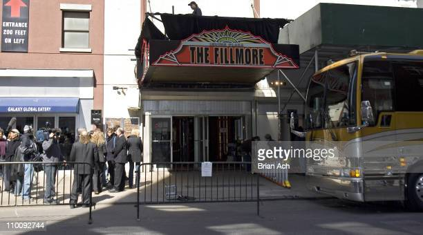 Fillmore New York at Irving Plaza during Unveiling of the New Fillmore New York at Irving Plaza Marquee in New York City New York United States