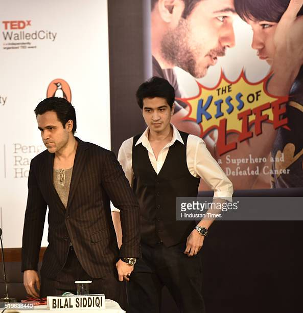 Film Actor Emraan Hashmi during the release of his book titled 'The Kiss Of Life How A Superhero And My Son Defeated Cancer' at India Islamic...