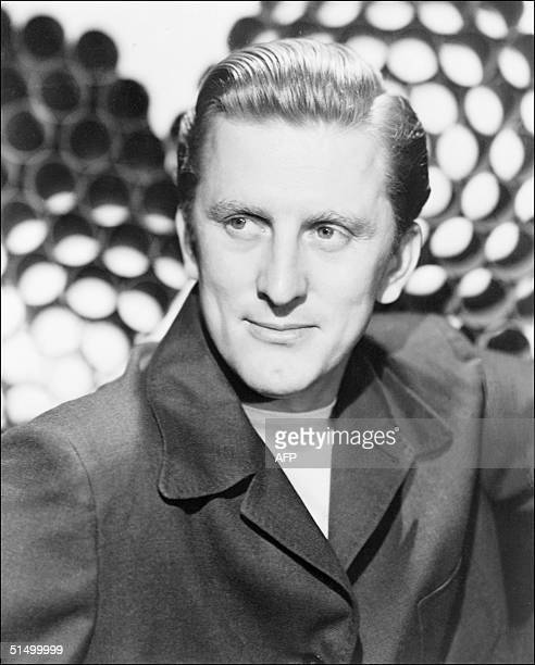 Film actor Kirk Douglas in one of his first movies, in an undated picture. Douglas born in Amsterdam, Netherlands, made his Broadway debut in 1941,...