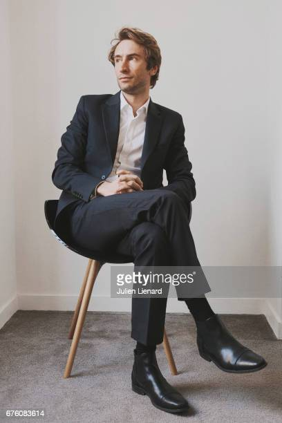 Film and tv producer Matthieu Viala is photographed on February 13 2017 in Paris France