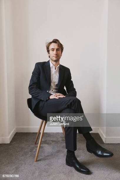 Film and tv producer Matthieu Viala is photographed on February 13, 2017 in Paris, France.