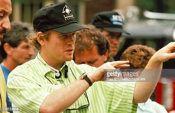 "Film ""Backdraft"" by Ron HowardIn United States in November, 1991 - Director Ron Howard."