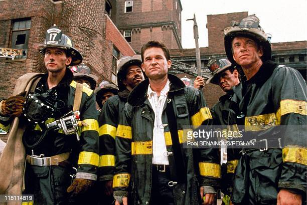 Film Backdraft by Ron HowardIn United States in November 1991 William Baldwin Kurt Russell Scott Glenn