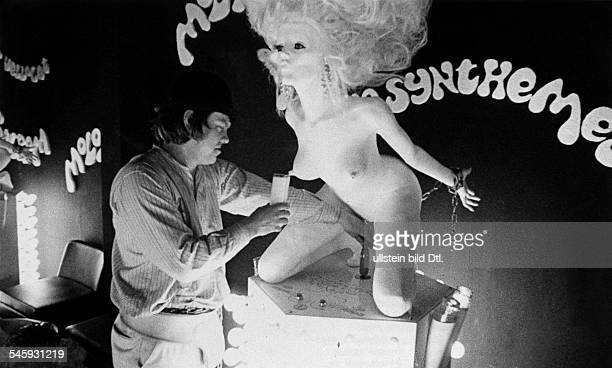 Film 'Clockwork Orange' with Malcolm McDowell director Stanley Kubrick Great Britain 1971