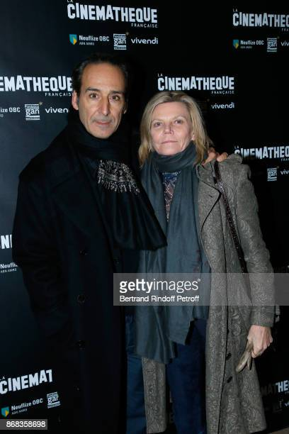 Film composer Alexandre Desplat with his wife Dominique 'Solre' Lemonnier attend the Tribute to Roman Polanski Held with a Retrospective of the...