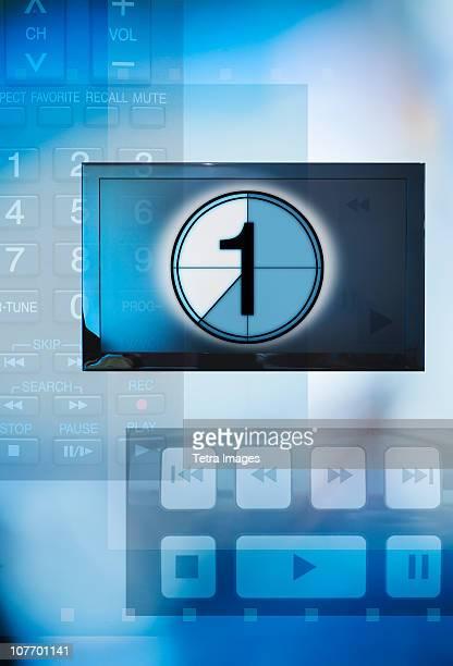 Film countdown with keypad