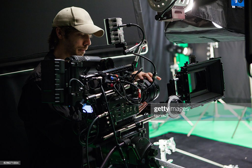 Film Crew : Stock Photo