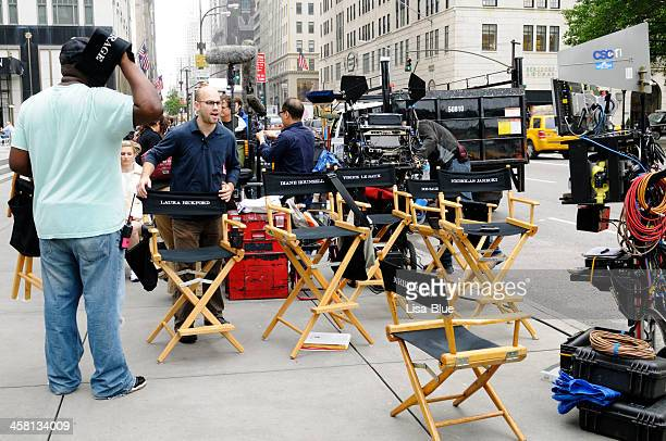 film crew,nyc - new york celebrity stock photos and pictures