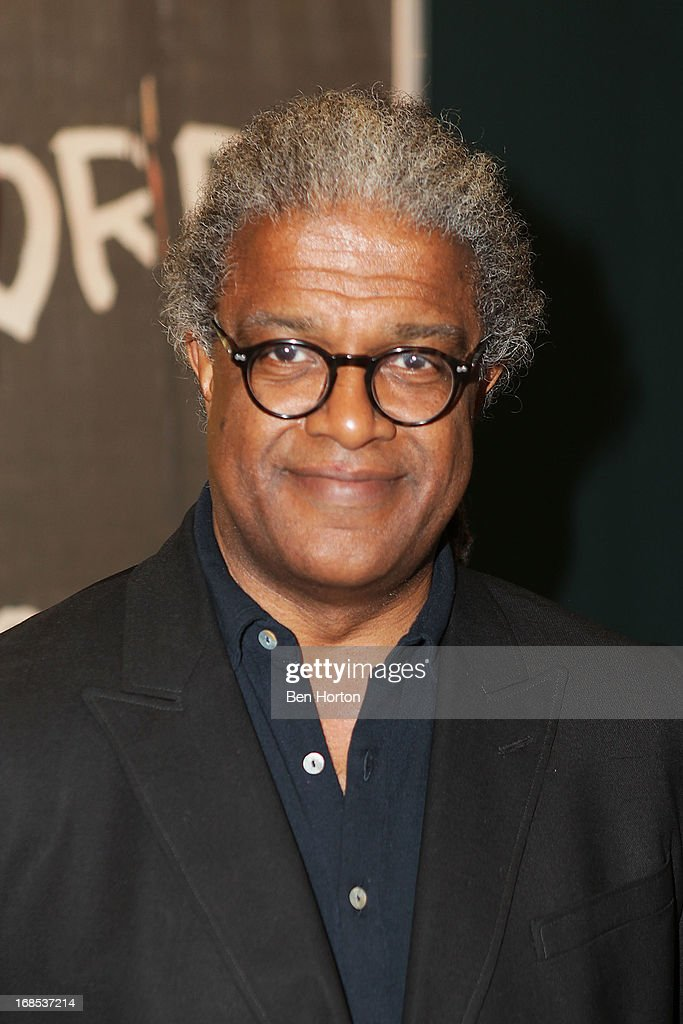 Film critic Elvis Mitchell attends the Academy of Motion Picture Arts and Sciences' special screening and discussion of Shirley Clarke's 'Portrait Of Jason' at Pickford Center for Motion Study on May 10, 2013 in Hollywood, California.