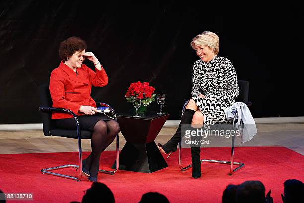 Film Critic for The New York Times Janet Maslin and actress Emma Thompson speak as The New York Times and The Academy of Motion Picture Arts and...